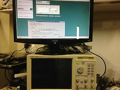 HP Agilent 16702B Logic Analysis System, Opt 003, 5 x Agilent 16717A and cables