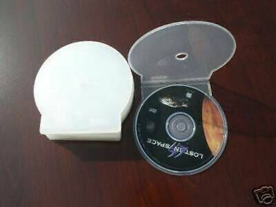 500 New Clear Cd/dvd Clamshell Cases Js100