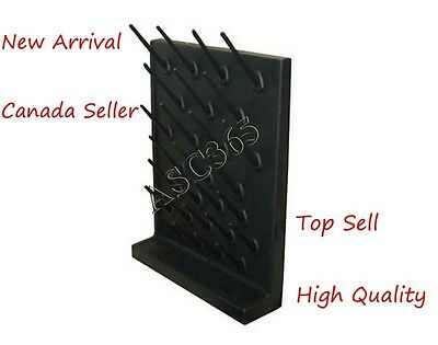 New Arrival Black Color Drying Rack PP 27 Pegs Lab Supplies& Life Science Canada