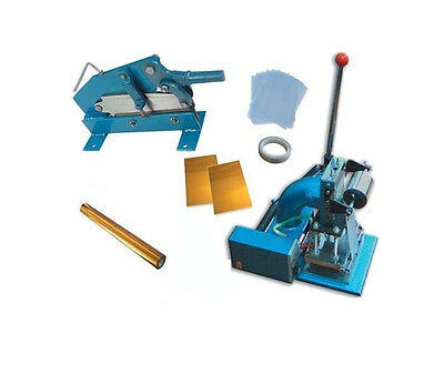 Comming! Hot Stamping Machine Kit Foil Plate Paper Cutter  Business Card DIY