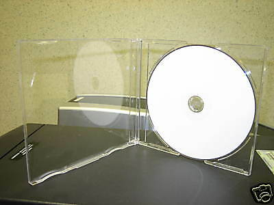 "100 7.2Mm Maxi Slim Single Cd Jewel Case ""j"" Card Psc17"
