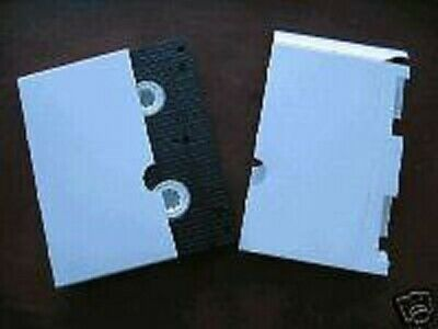 200 VHS Video Tape Cardboard Sleeve, White JS85