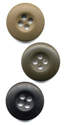 Rothco BDU Buttons Bag of 100 - Choice of 3 Colors