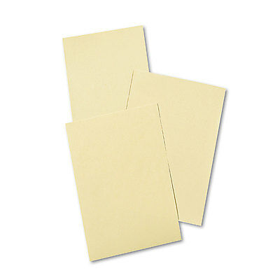 Pacon Cream Manila Drawing Paper 50 lbs. 12 x 18 500 Sheets/Pack 4112