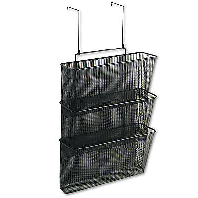 Fellowes Mesh Partition Additions Three-File Pocket Organizer 12 5/8 x 16 3/4
