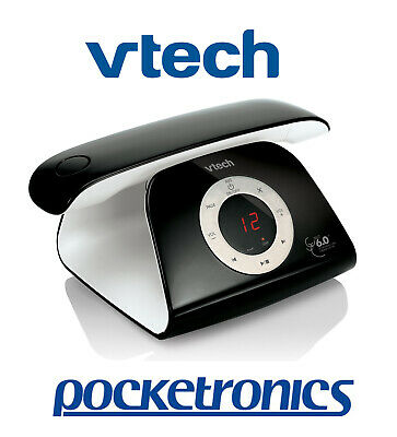 VTech 15150 Black Stylish Handsfree Cordless Phone Answer Machine Handsfree NEW