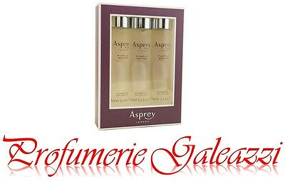 ASPREY LONDON PURPLE WATER SHOWER GEL - 3 X 75 ml