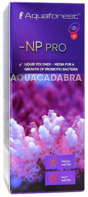 Aquaforest -Np Pro Liquid Polymer Media For Probiotic Bacteria Aquarium Fish