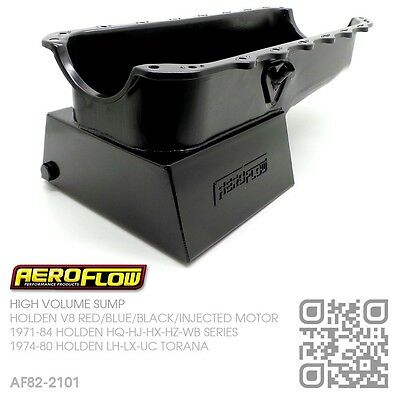 Aeroflow 6.5L High Volume Sump V8 304-355 Injected Motor [Holden Hq-Hj-Hx-Hz-Wb]