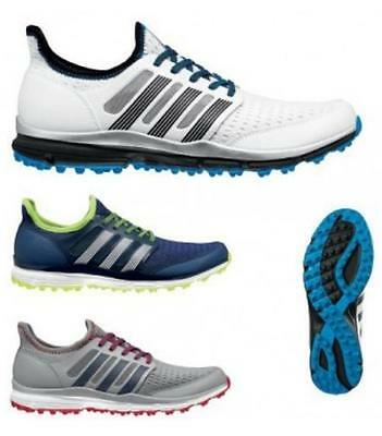Adidas Climacool Mens Golf Shoes (Spikeless) (White - Size 10)