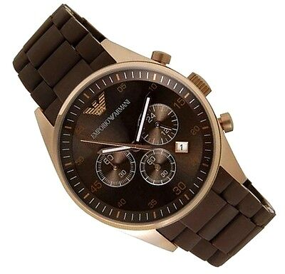 Emporio Armani Men's Chrono Watch Ar5890  -  Brand New With Certificate