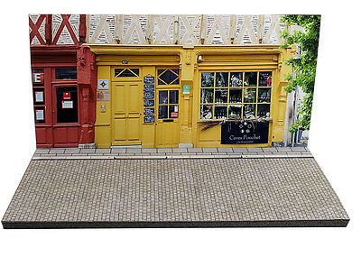Diorama présentoir Boutique caviste / Wine shop - 1/43ème - #MR43U009