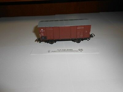 Piko Gauge H0: Covered Goods Wagon the DR, Without Original Box