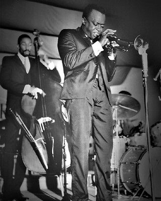 Jazz Musician MILES DAVIS Glossy 8x10 Photo Music Entertainment Print Poster
