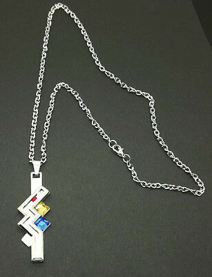 Final Fantasy 13 FF XIII-2 Lightning Cosplay Necklace Pendant