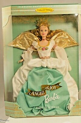 """Barbie Doll """"Angel of Joy"""" Special Edition Collectors 1st  Angel Series 1998 COA"""