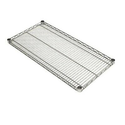 Seville Classics NSF Listed Work Table Steel Wire Shelf