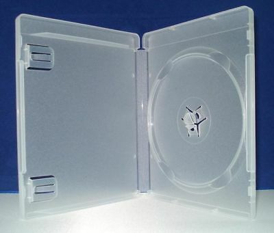 50 Playstation 3 Ps3 Game Case, Clear W/ Sleeve -Ps3