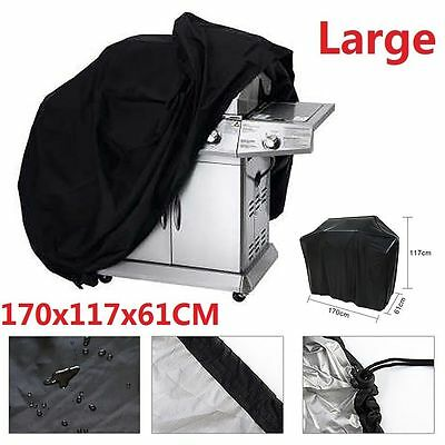 BBQ Cover Outdoor Waterproof Barbecue Covers Garden Patio Grill Protector 170 cm