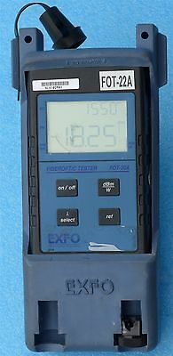 Exfo FOT-22A Optical Power Meter  FOT22A inventory 793