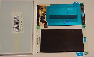 Samsung Galaxy Note 5 N920F Lcd Touch Screen Display Full Original Genuine White