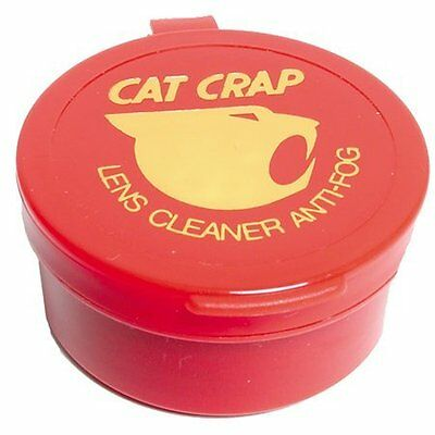 Catcrap Helmet Visor Goggle Glasses & Lense Cleaner Anti Fog