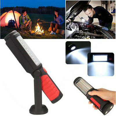 36+5 LED Flexible Magnetic Inspection Hanging Work Lamp Light Camping Torch