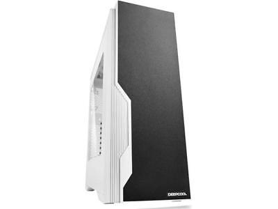 DEEPCOOL DUKASE WHV2 Mid Tower ATX case Black and White Metal Panel and All-Meta
