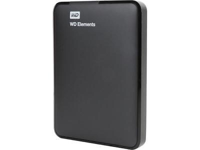 WD 1TB Elements Portable External Hard Drive - USB 3.0 - WDBUZG0010BBK (Certifie