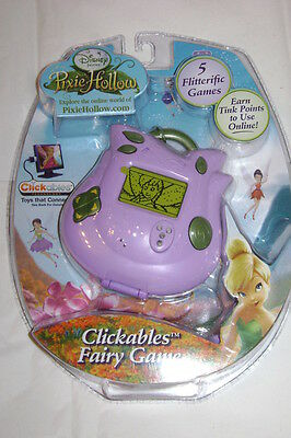 Disney Pixie Hollow Clickables Fairy Game NEW Ages 7+