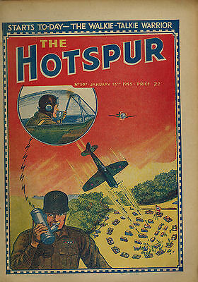 HOTSPUR COMIC No. 507-532 FULL YEAR from 1945 D. C. Thomson