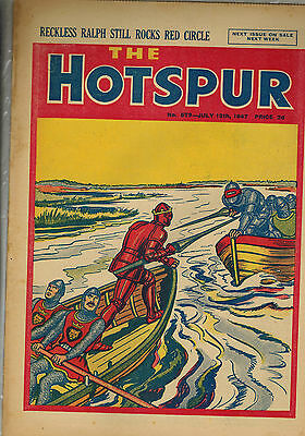 HOTSPUR COMIC No. 579-597 July-December 1947 complete D. C. Thomson