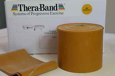 Gold Theraband Excellent Band Thera-band Max Strength - Exercise, Catapult