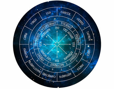 Pendulum Dowsing Board Wicca Pagan Oracle New Age Fortune Telling