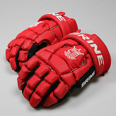 NEW Brine King Superlight 2 Lacrosse Lax Gloves- Red List @ $110
