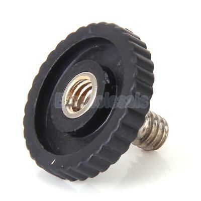 "1/4"" Male to 1/4"" Female Screw Adapter for SLR Tripod Camera Flash Bracket Stand"