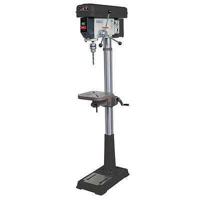 Jet JDP-15F 15-Inch Belt Tensioning Depth Floorstanding Drill Press - 716250