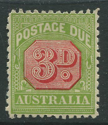 Australia 1936 3d Postage Due mint o.g. wmk Small Crown C of A Multiple