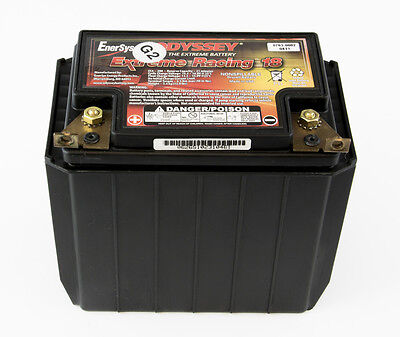 Odyssey Battery ER18 Extreme Racing Battery 12V Compact Dry Cell Motorsports
