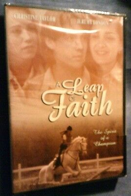 DVD A LEAP OF FAITH The Spirit of a Champion Rehabilitation Ctr Blind Youths