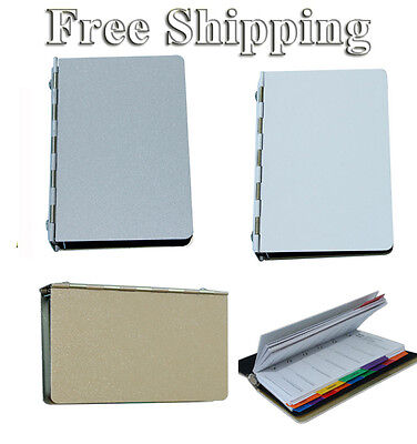 3pcs Blank Sublimation Metal Cover Notebook Heat Press Transfer Personal Gift