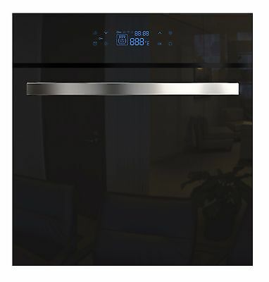 """Empava 24"""" Tempered Glass LED Touch Controls Electric Built-in Single Wall Ovens"""