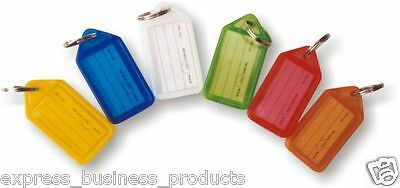 Kevron Keytags ID5 Pack of 50 Assorted Colours - EA37742