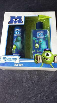 Coffret Monsters University Eau De Toilette 75 Ml + Gel Douche 100 Ml