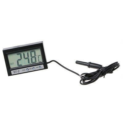 Car In / Out LCD Dual-Way Digital Thermometer Measuring Temperature & Clock ST2