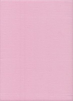Zweigart 28 count Cashel Linen Fabric Fat Quarter 49 x 70cms Carnation Pink 4034