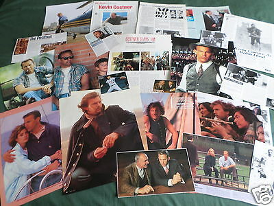 Kevin Costner  Film Star - Clippings /cuttings Pack