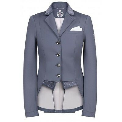 New Release!! Ladies Fair Play Bea Dressage Jacket In Special Edition Grey