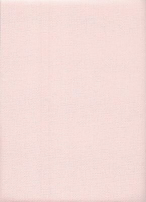 14 Count Zweigart Aida Cross Stitch Fabric Pale Rose size 33 x 54 cms singles