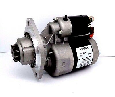 Starter Motor With Reducer Fits Various Zetor Ur1 Series Tractors See List